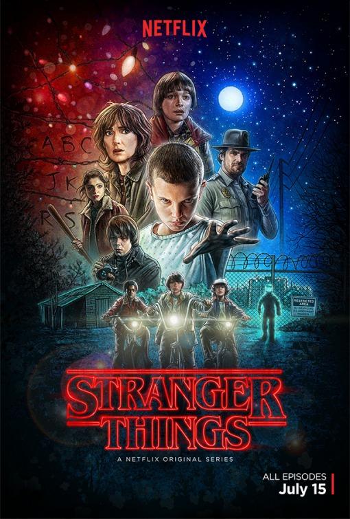 Stranger Things: un poster per la serie targata Netflix
