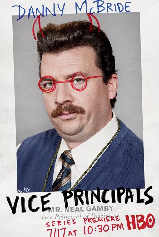 Vice Principals: Danny McBride in un poster per la prima stagione