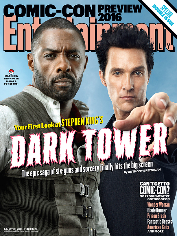 The Dark Tower: la copertina di Entertainment Weekly