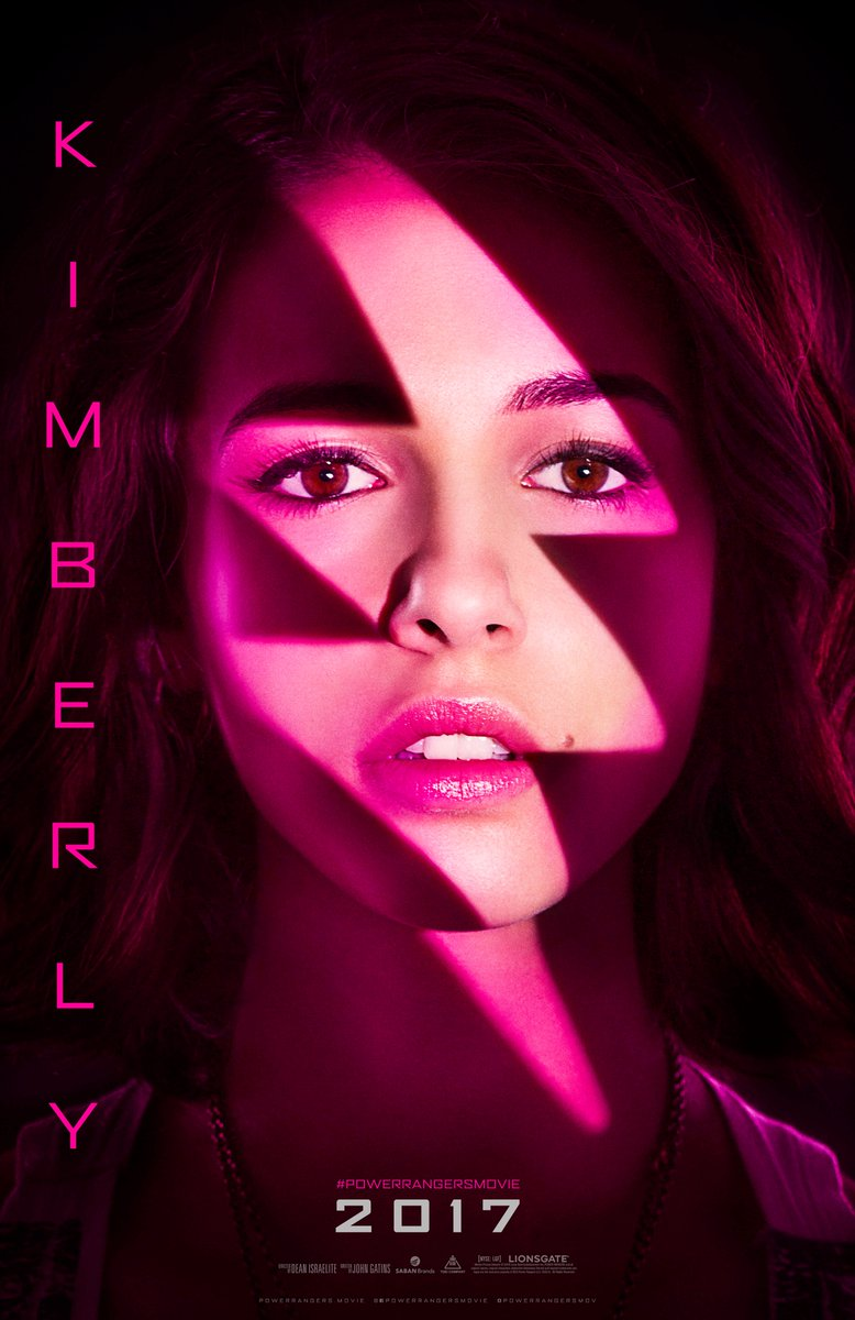 Power Rangers: il character poster di Kimberly