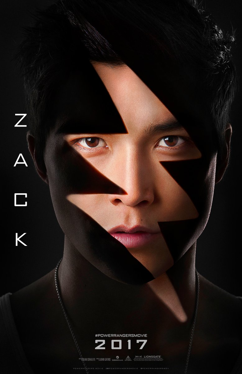 Power Rangers: il character poster di Zack