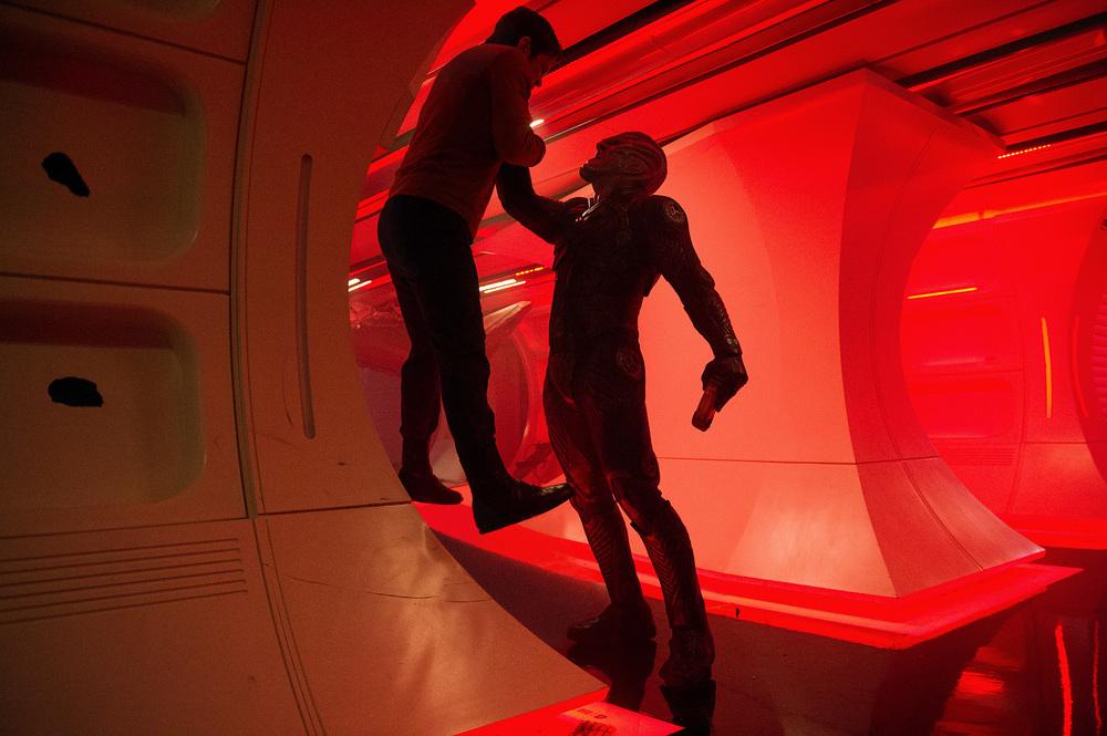 Star Trek Beyond: un alieno del film