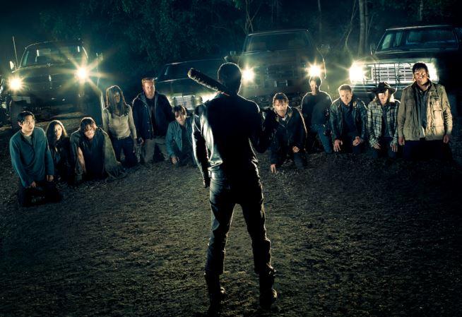 The Walking Dead: una foto della settima stagione