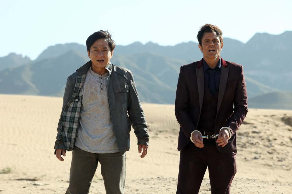 Skiptrace - Missione Hong Kong: Johnny Knoxville e Jackie Chan in un'inquadratura del film