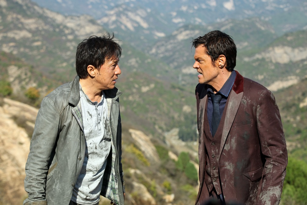 Skiptrace - Missione Hong Kong: Johnny Knoxville e Jackie Chan in un momento del film