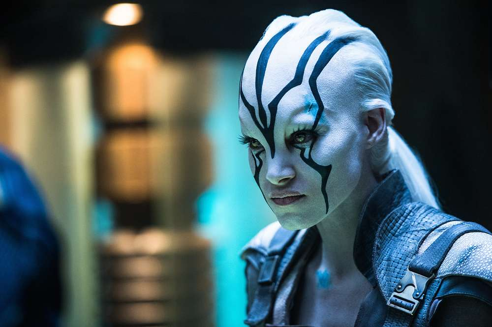 Star Trek Beyond: Sofia Boutella in una scena del film