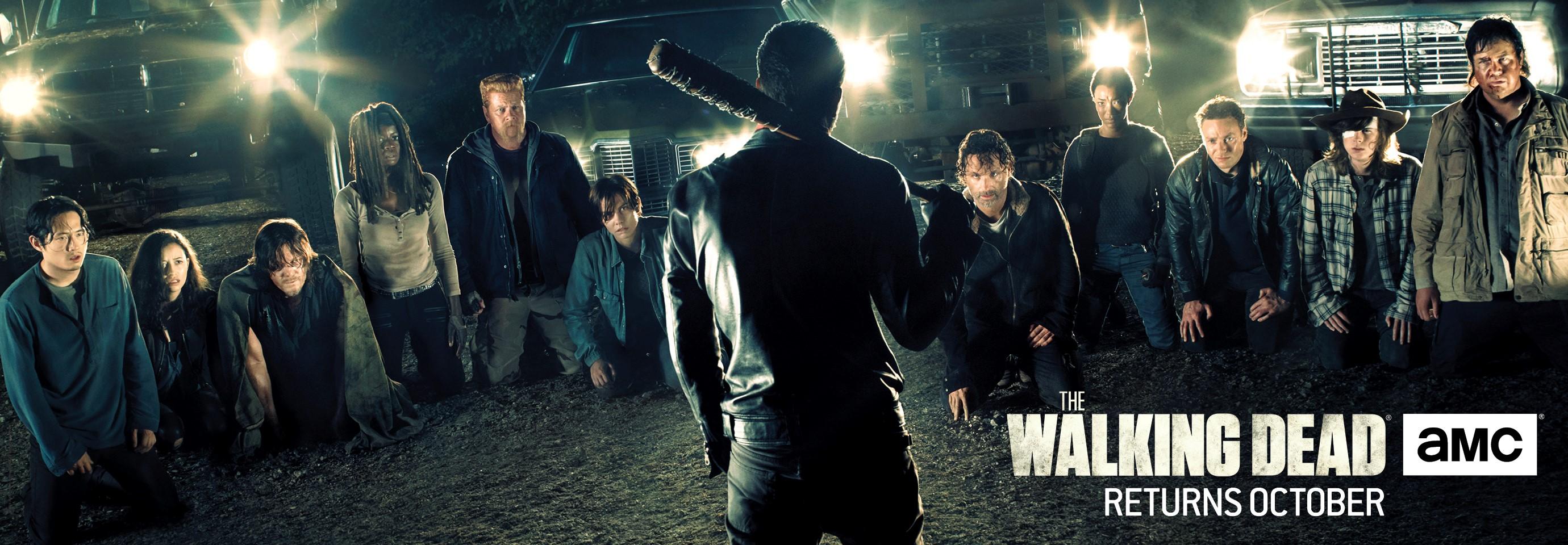 The Walking Dead: il banner della settima stagione