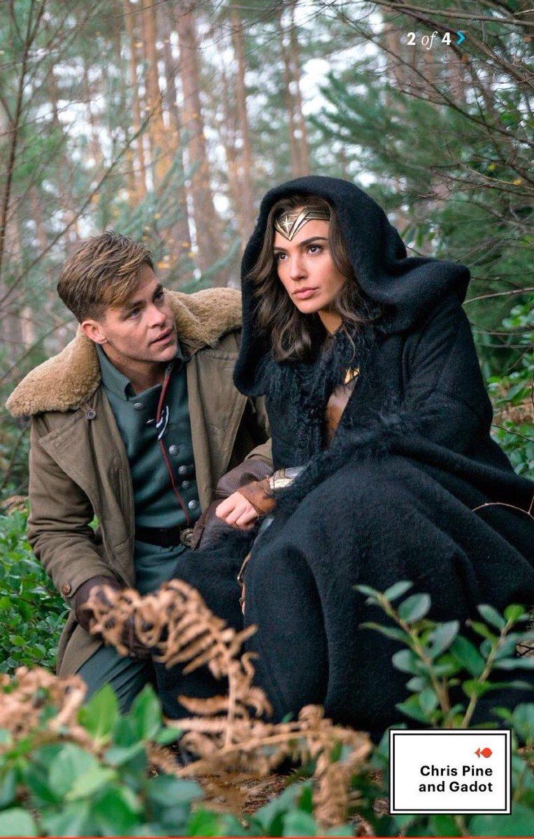 Wonder Woman: Gal Gadot e Chris Pine in una foto promozionale