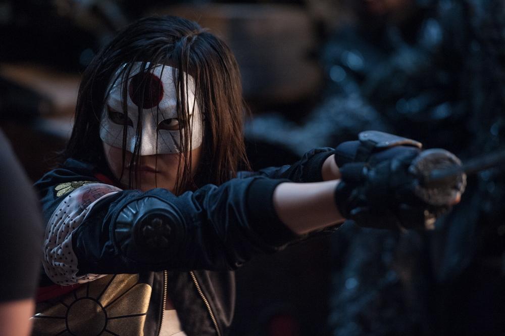 Suicide Squad: l'attrice Karen Fukuhara in una foto del film