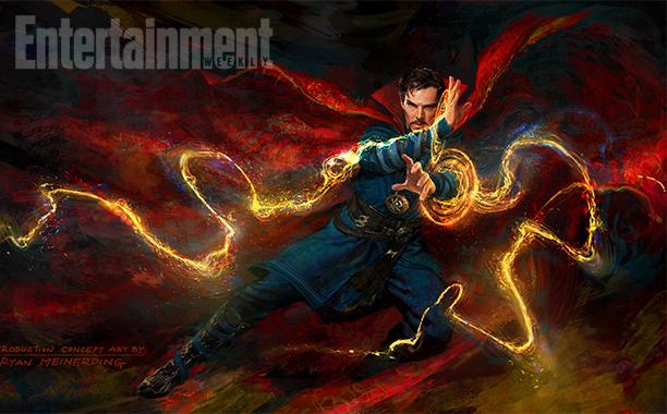 Doctor Strange: un concept art del film