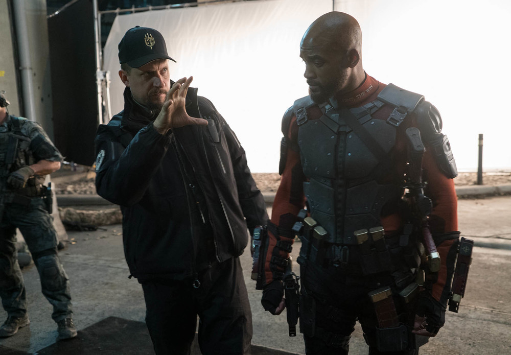 Suicide Squad: David Ayer e Will Smith sul set
