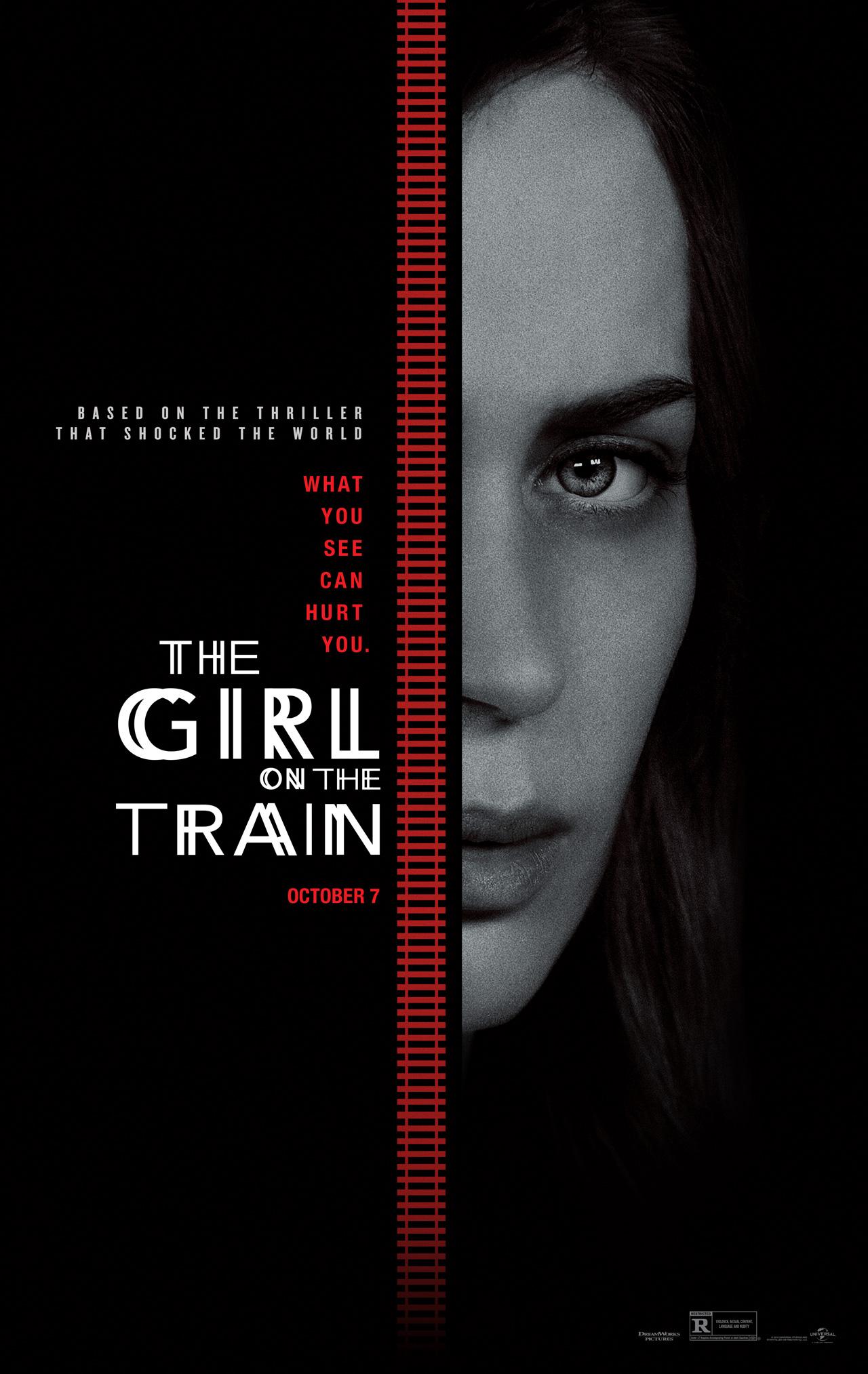 The Girl on the Train: il poster del film