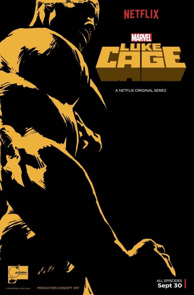 Luke Cage: il poster della serie