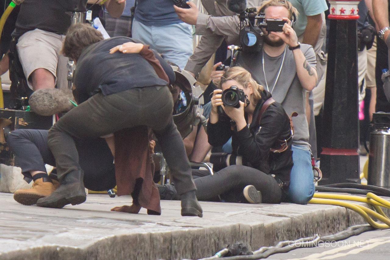 The Mummy: Tom Cruise e Annabelle Wallis sul set
