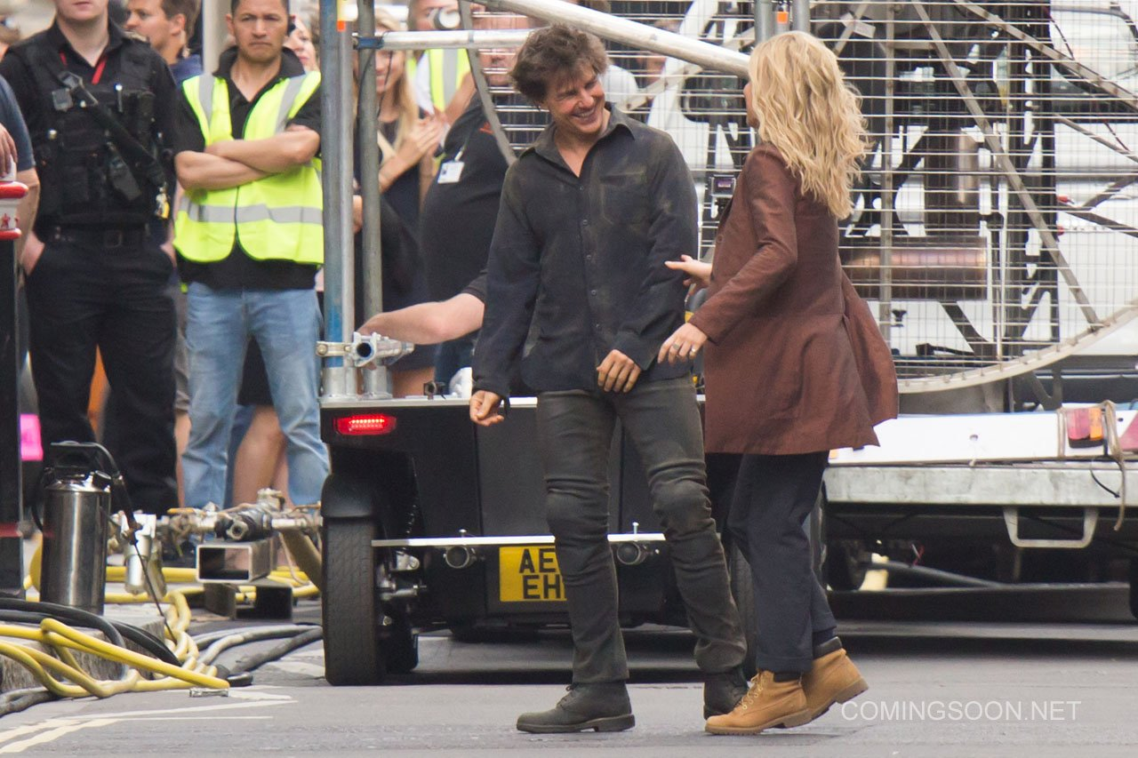The Mummy: Tom Cruise e Annabelle Wallis sul set