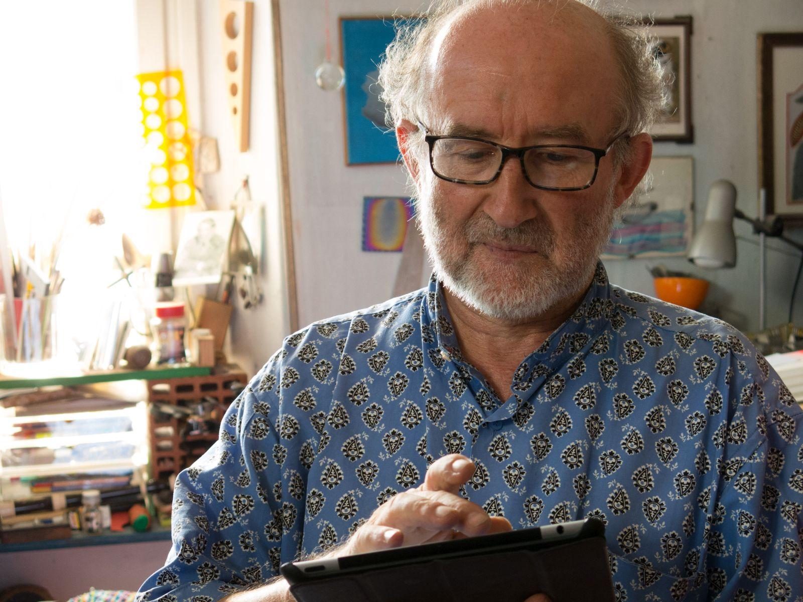 Il fiume ha sempre ragione: Alberto Casiraghy in una scena del documentario