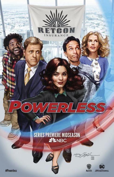 Powerless: il poster della serie