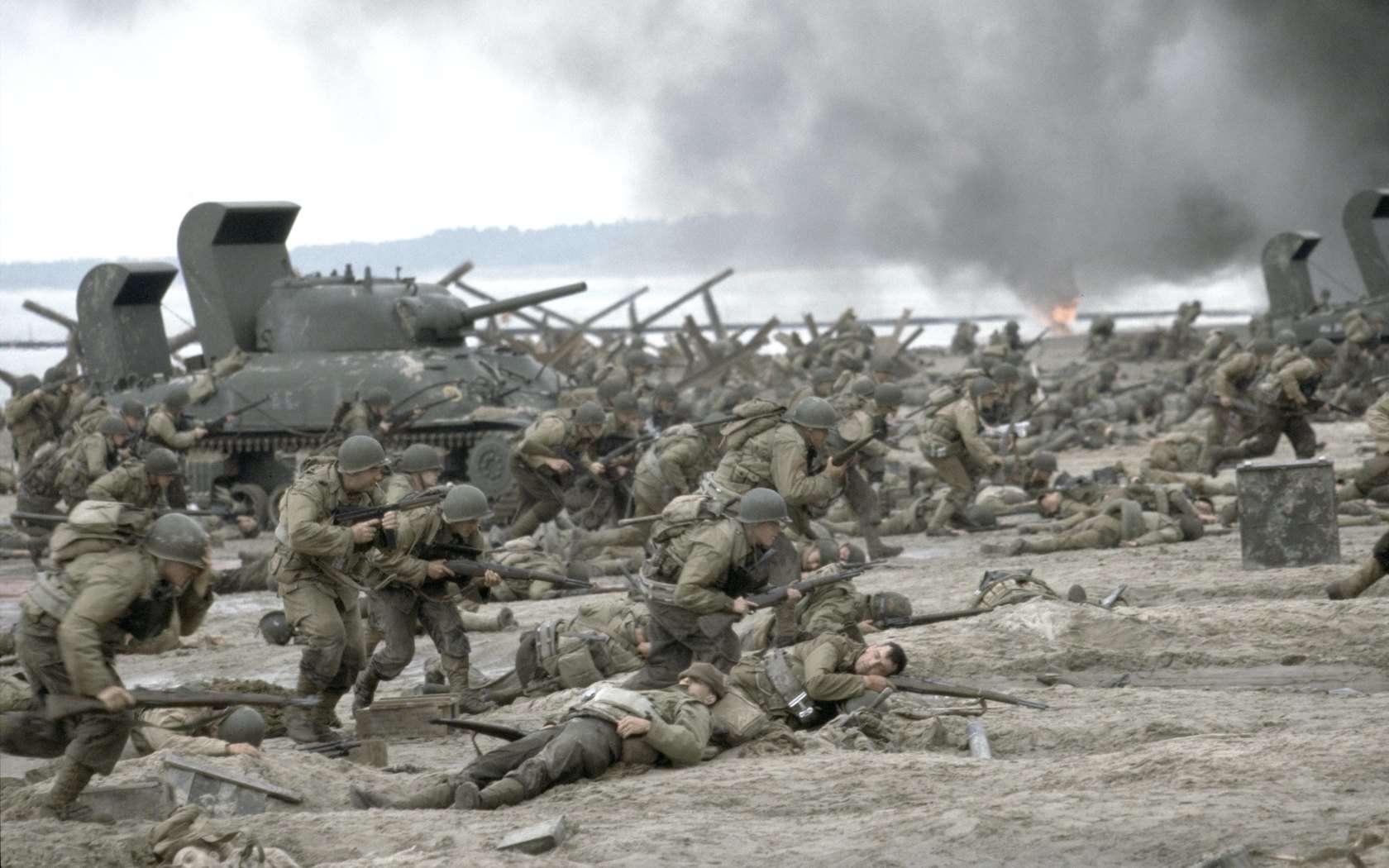 Salvate il soldato Ryan: una scena del film di Steven Spielberg