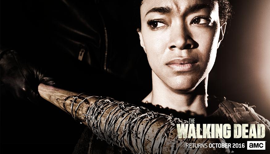 The Walking Dead: l'immagine dedicata a Sasha