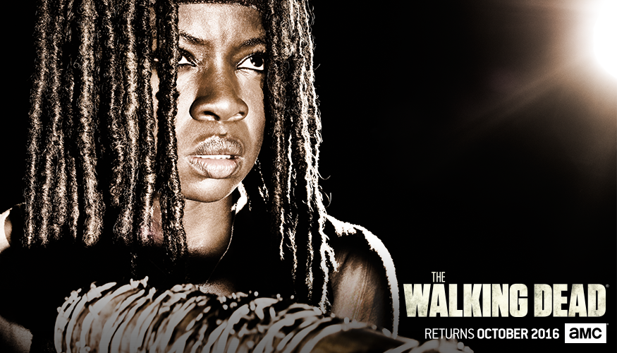 The Walking Dead: l'immagine dedicata a Michonne