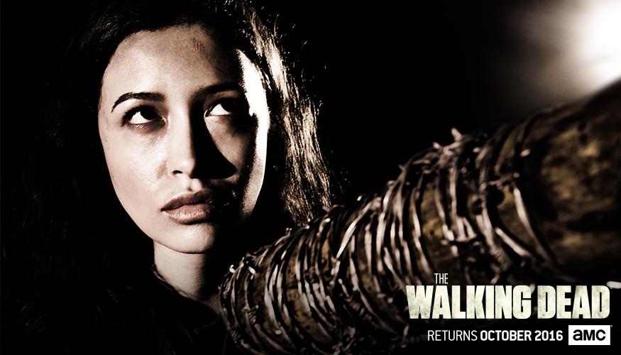 The Walking Dead: un'immagine di Rosita