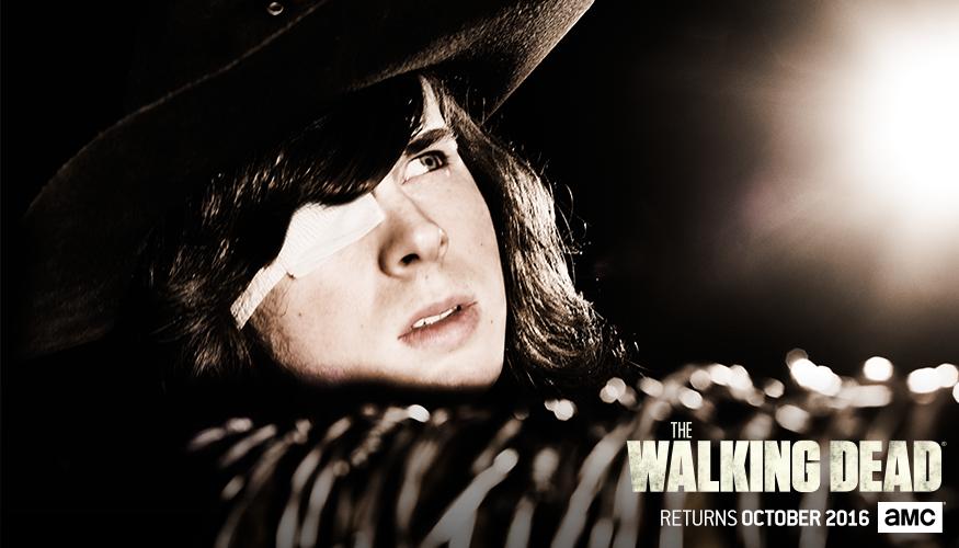 The Walking Dead: il poster in cui appare Carl