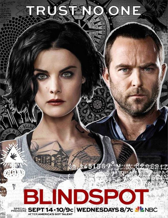 Blindspot: il poster della seconda stagione