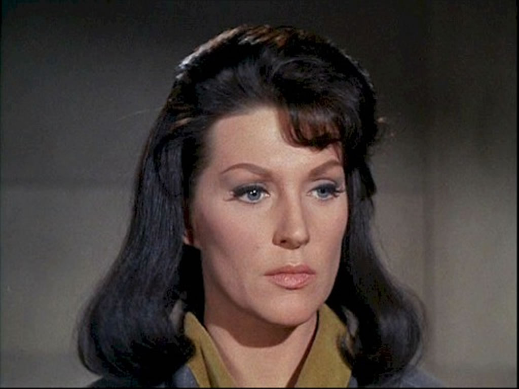 Majel Barrett in una puntata di Star Trek
