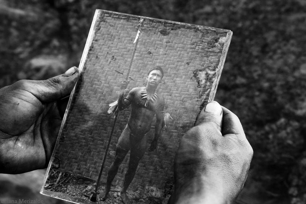 El abrazo de la serpiente: un'immagine tratta dal film