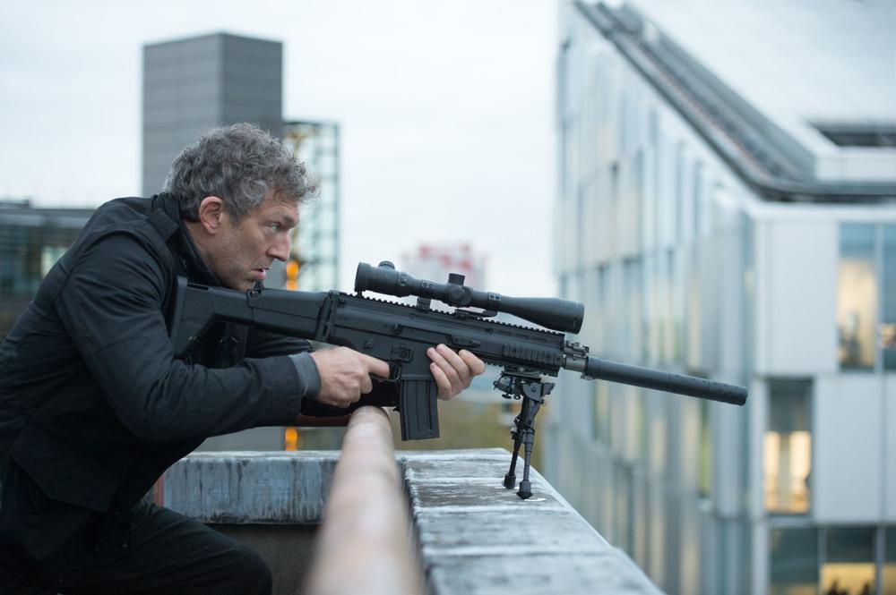 Jason Bourne: Vincent Cassel in una scena del film