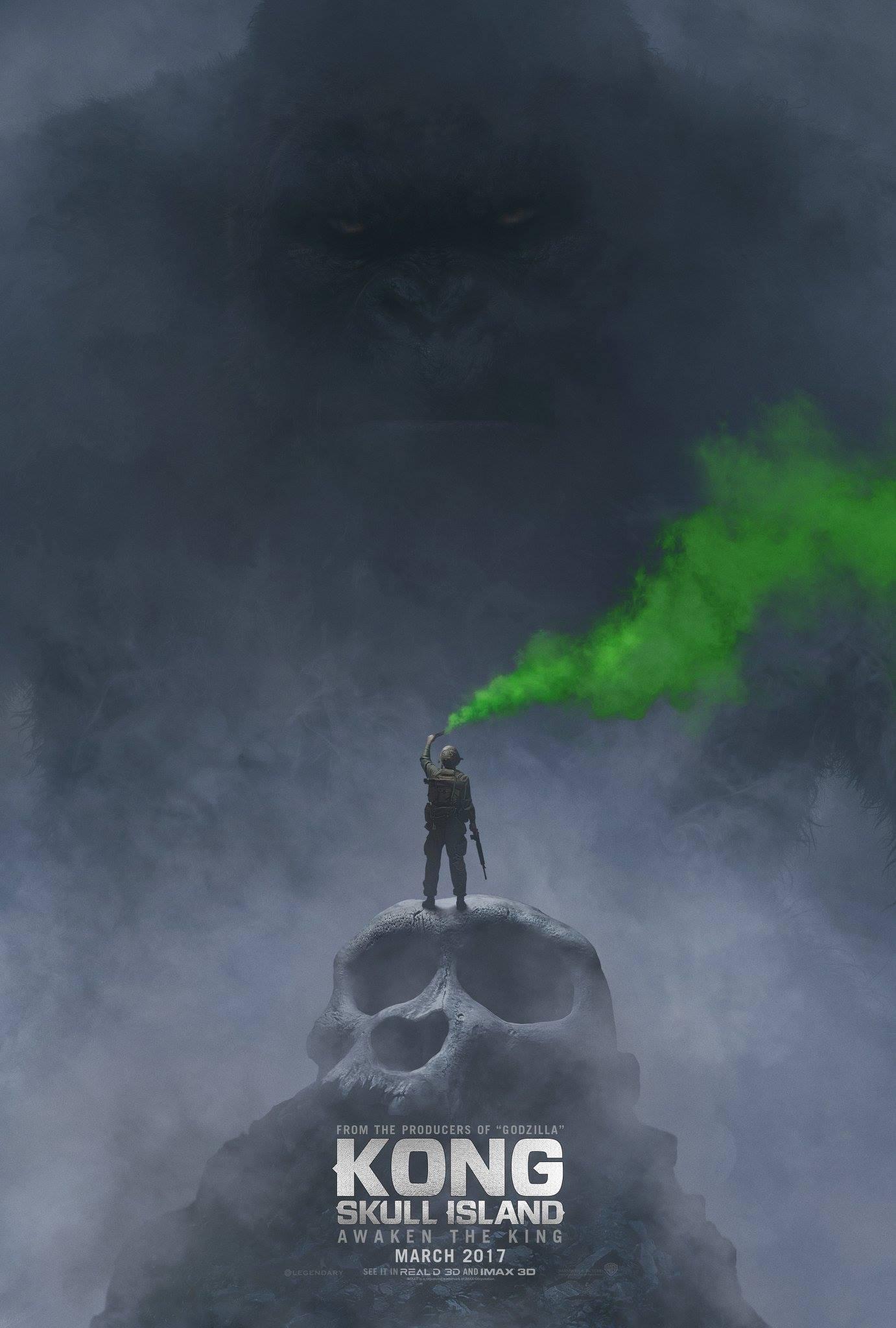 Kong: Skull Island - La locandina del film