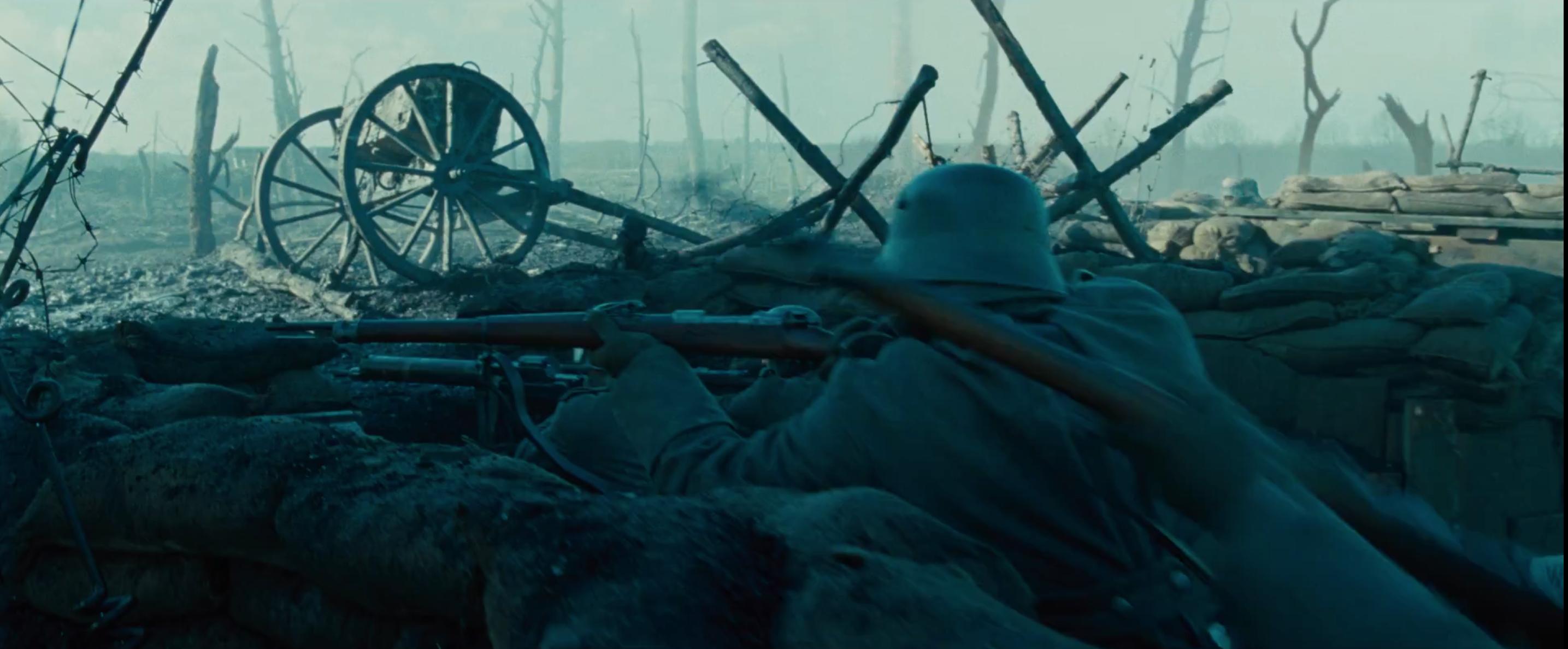 Wonder Woman: una scena di guerra dal primo trailer del film