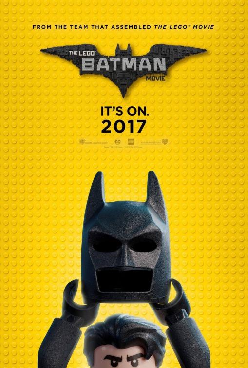The Lego Batman Movie: la nuova locandina