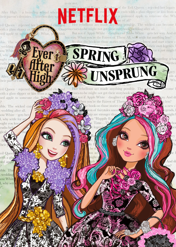 Ever After High: un poster per la serie