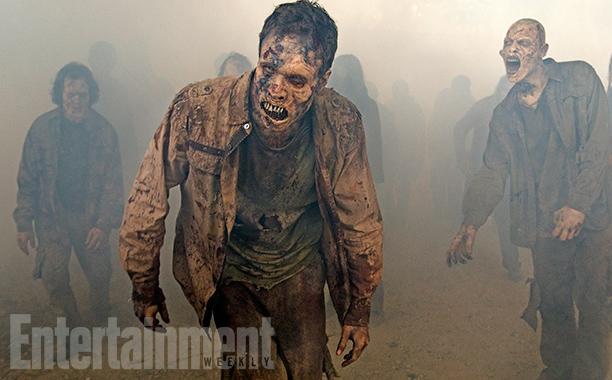 The Walking Dead: un gruppo di walkers