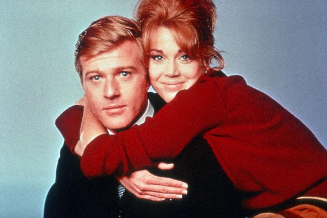 A piedi nudi nel parco: un'immagine promozionale con Jane Fonda e Robert Redford