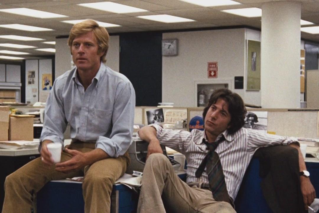 Tutti gli uomini del presidente: Robert Redford e Dustin Hoffman