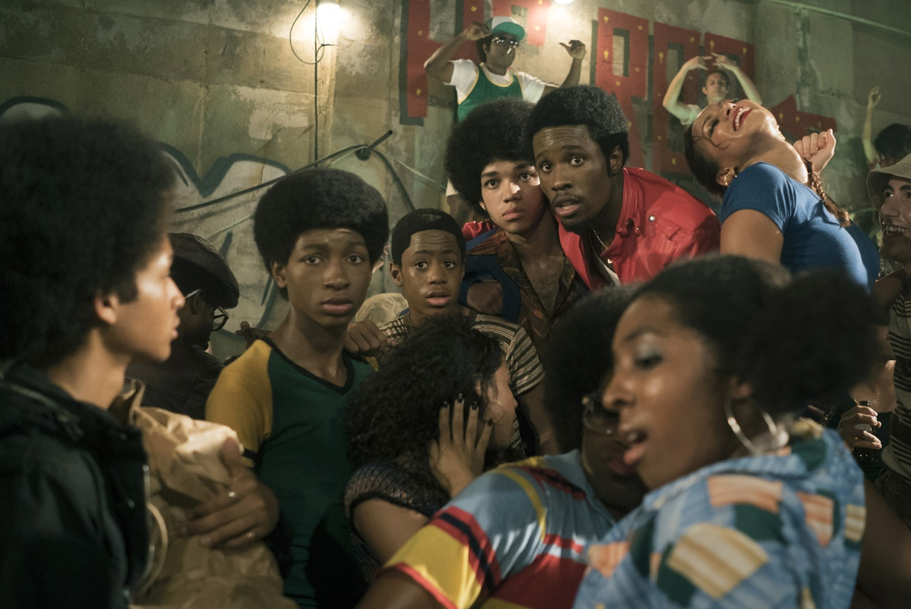 The Get Down: una foto che ritrae i protagonisti della serie