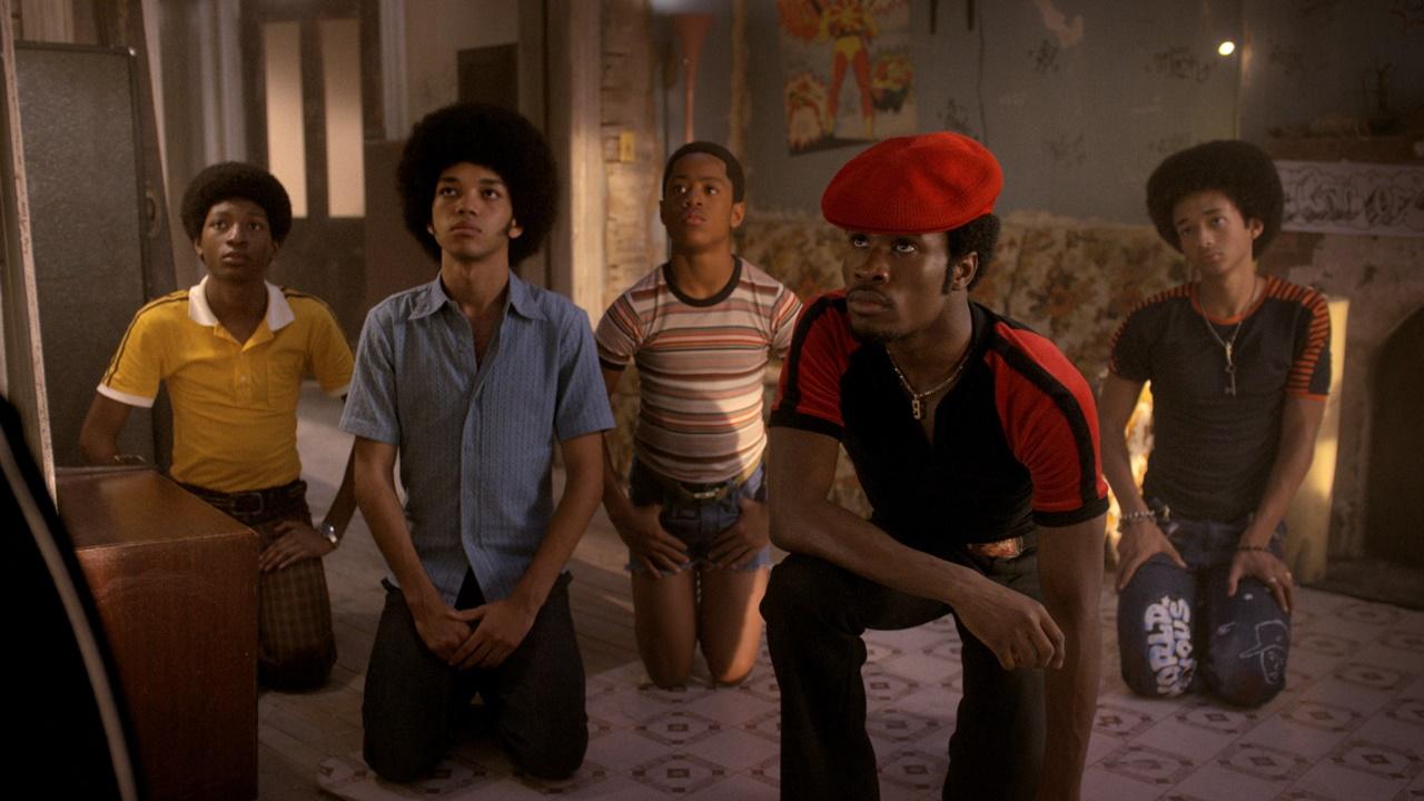 The Get Down: una foto di gruppo dei giovani protagonisti