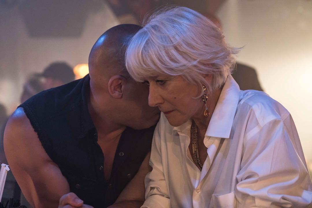 Fast 8: Helen Mirren sul set del film
