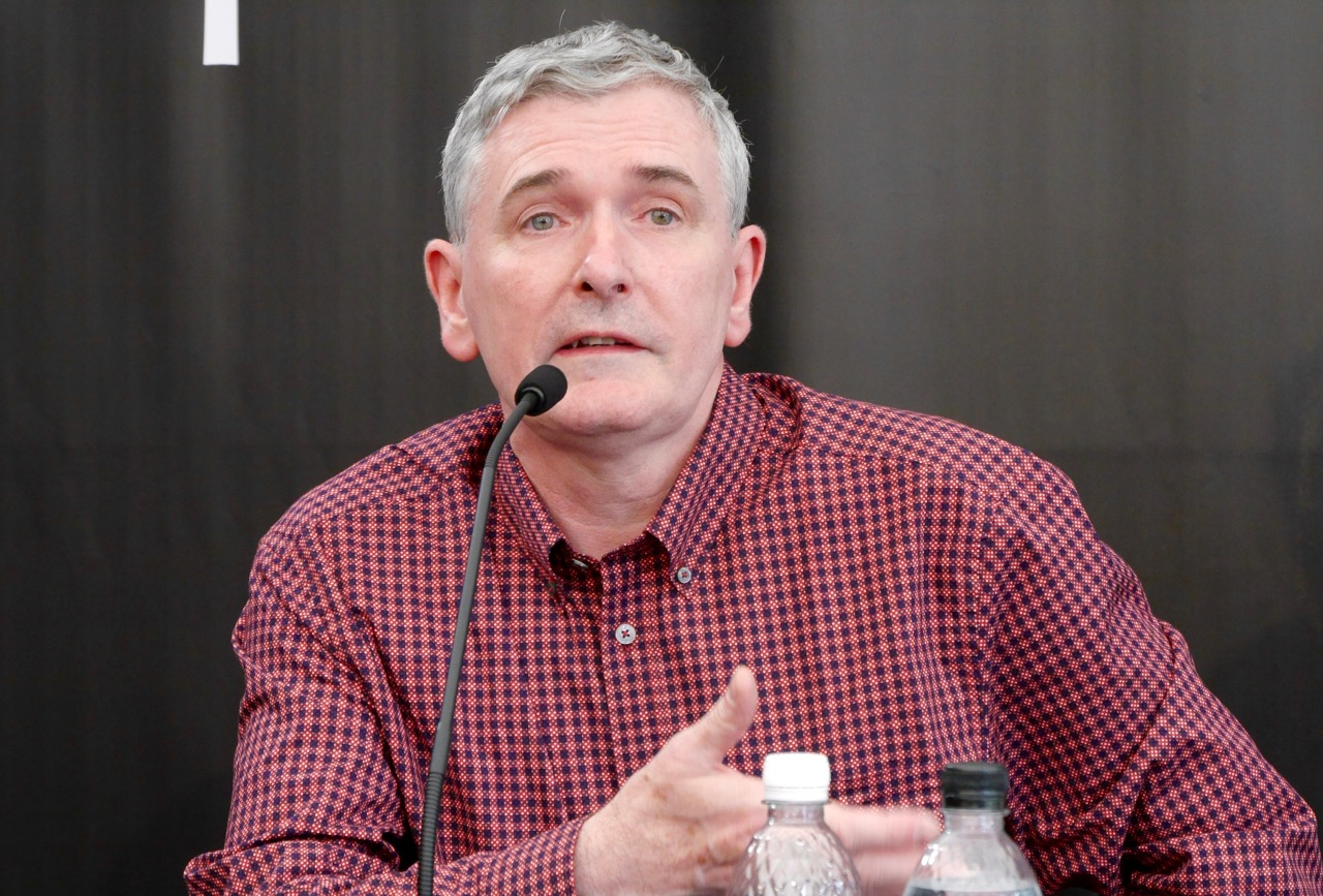 Mike Carey alla conferenza di Locarno 2016
