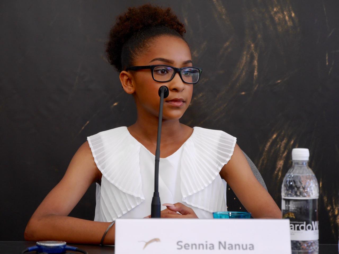 Sennia Nanua alla conferenza di Locarno 2016