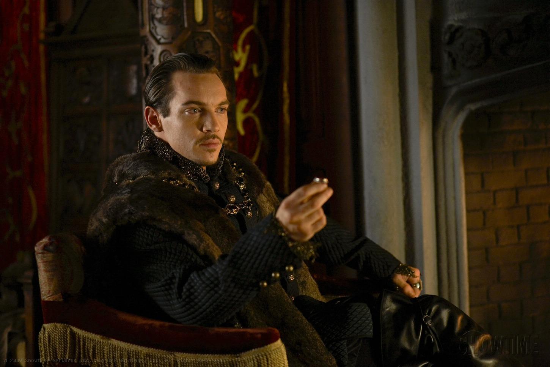 I Tudors: un'immagine dell'attore Jonathan Rhys Meyers
