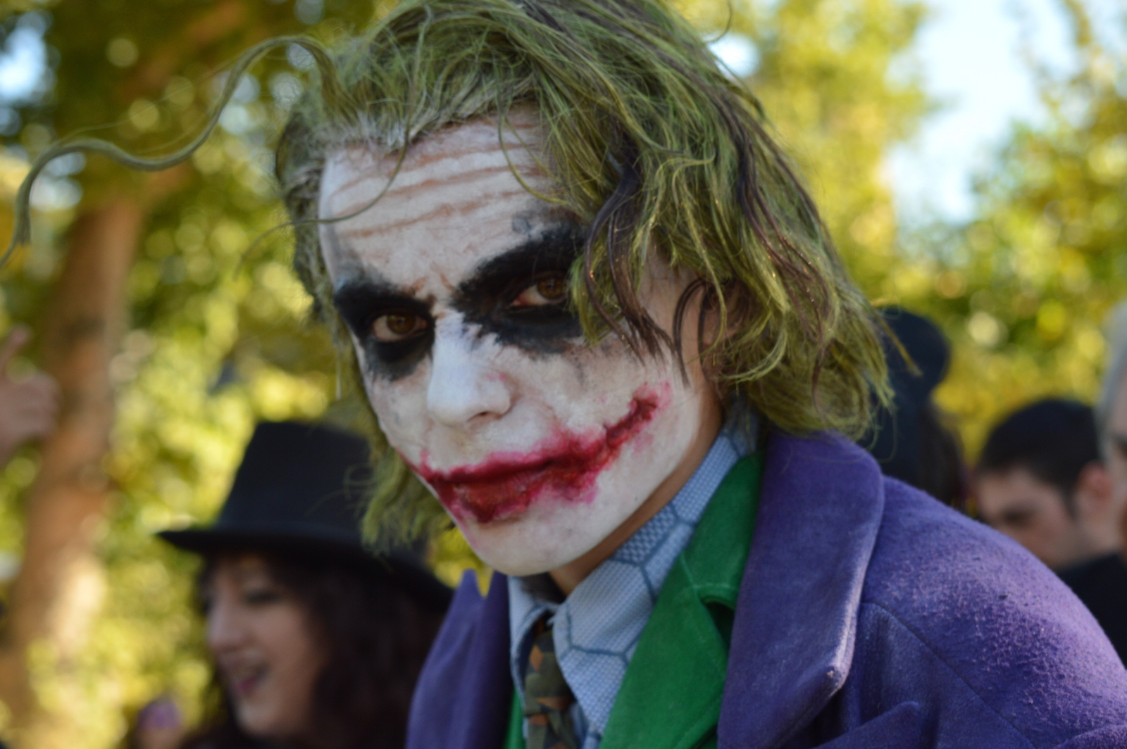 Suicide Squad: Cosplay del Joker di Nolan