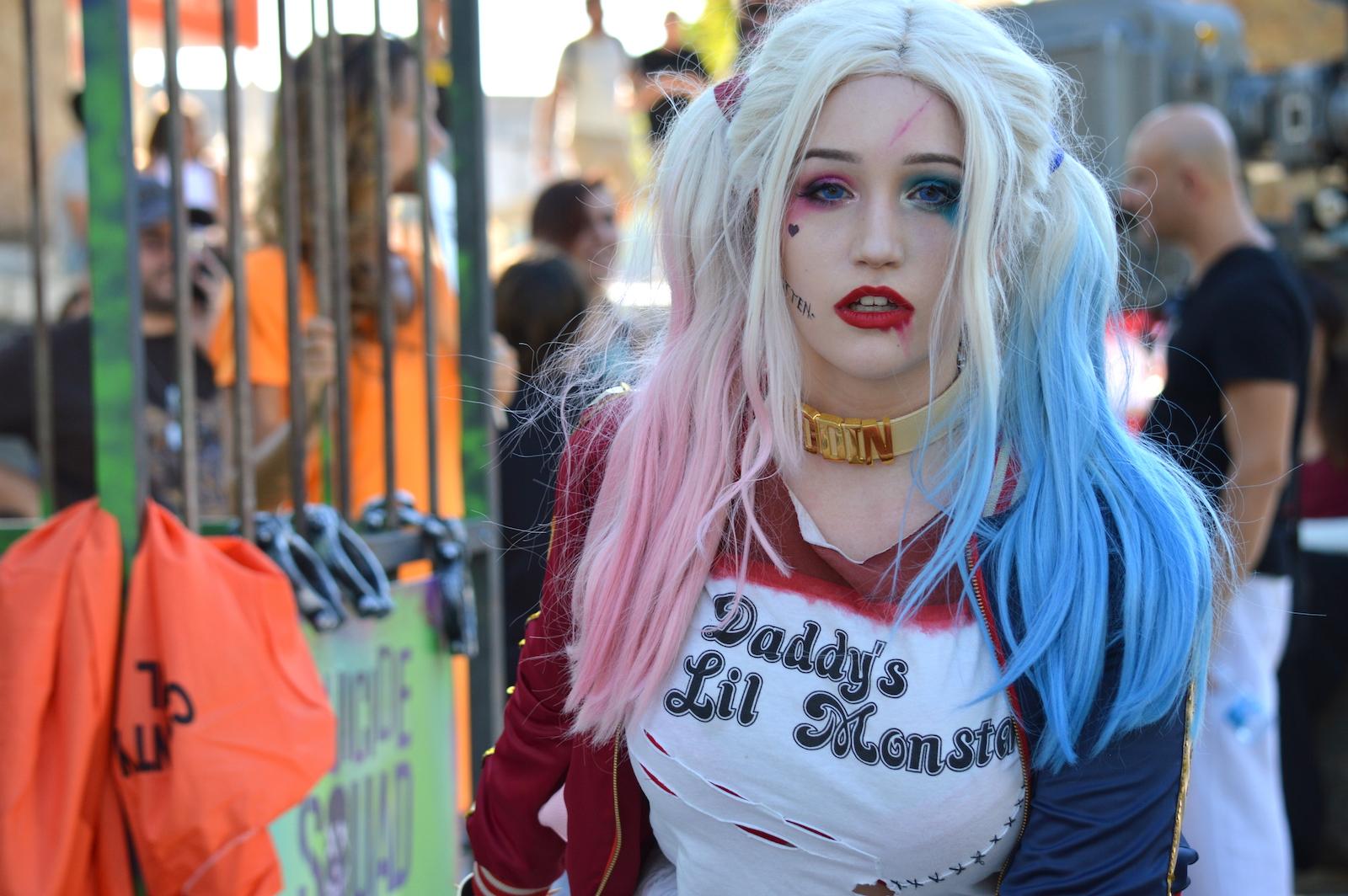 Suicide Squad: Cosplay di Harley Quinn all'evento dedicato