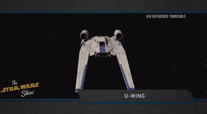 Rogue One: A Star Wars Story - Un'immagine dell'U-Wing
