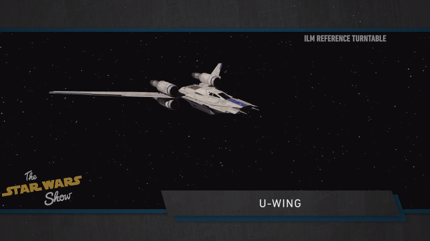 Rogue One: A Star Wars Story - Un'immagine dell'U-Wing