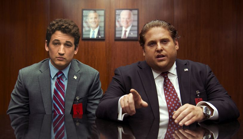 Trafficanti: Miles Teller e Jonah Hill in un momento del film