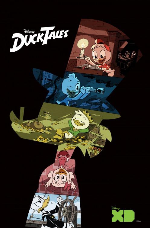 Ducktales: la locandina della serie