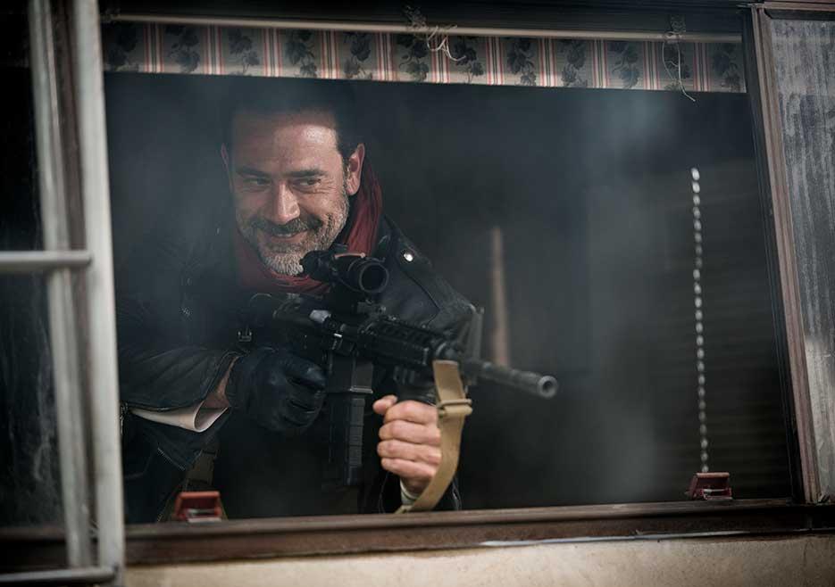 The Walking Dead, Jeffrey Dean Morgan nella stagione 7